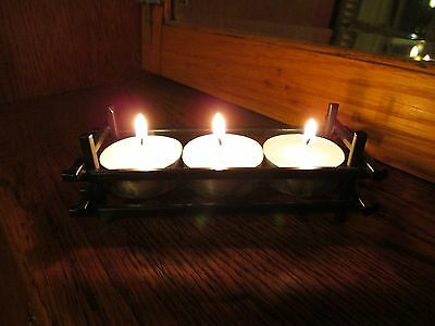 Wrought Iron Tea Light Candle Holder Wedding Table Decoration