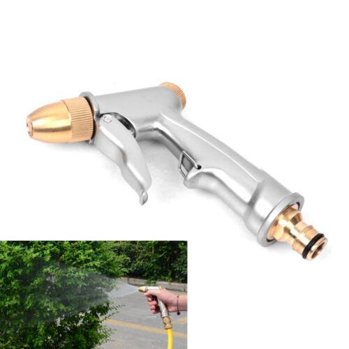 Gartenbrause Metall Spritzpistole Wasserpistole Spritze Auto Brause Hand-