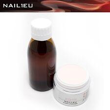 Acryl-Set: Liquid 100ml + 50ml/41g Pulver NAIL1.EU PINK/ Acryl Flüßigkeit Powder