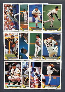1993-Topps-Pittsburgh-Pirates-TEAM-SET-w-Traded
