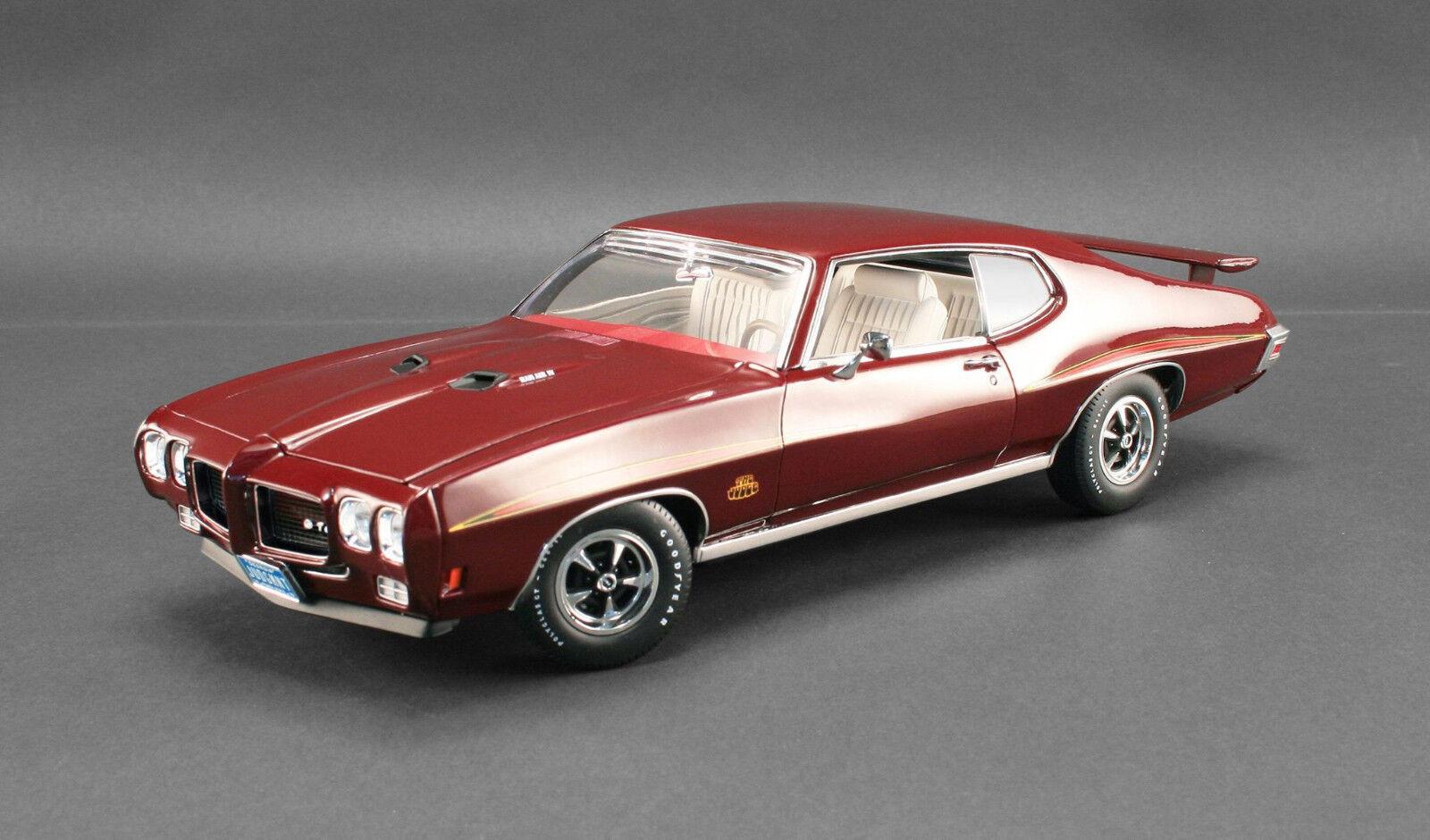 1970 Pontiac GTO Bordeaux 1 18 GMP 1801203