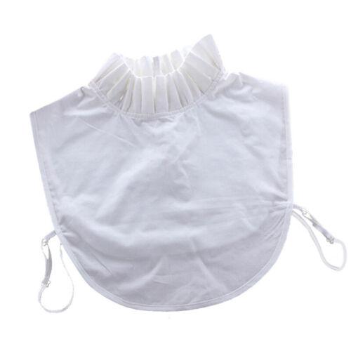 Lace Cotton Detachable Lapel Shirt Fake False Collar Necklace Removable Choker