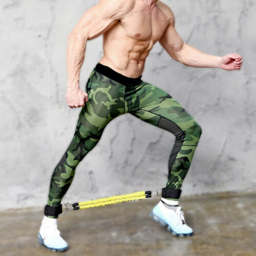 AB/_ Fitness Leg Jump Muscle Pull Rope Strength Training Resistance Band Sur