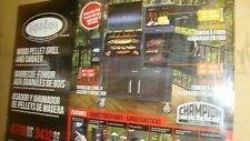 New Champion Competition Pro Louisiana Wood Pellet Grill and Smoker