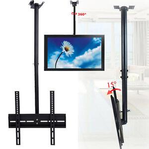 Tv drehbar 360° 26-32 Zoll Deckenhalterung drehbar 360° neigbar TV Halterung ...