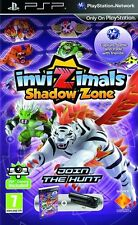 PSP game Invizimals Shadowzone with camera NEW RAR