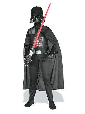Child Licensed Star Wars Darth Vader Fancy Dress Costume Kids Boys BN