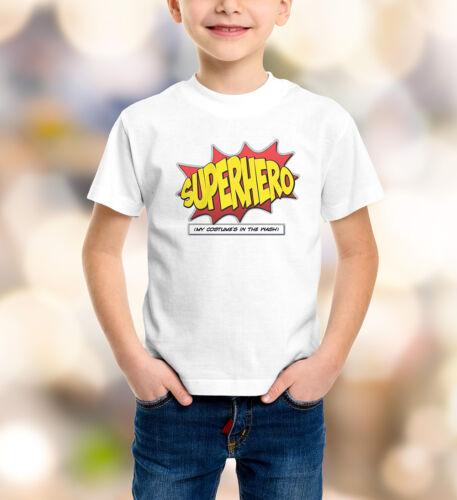 Childrens Superhero T-Shirt