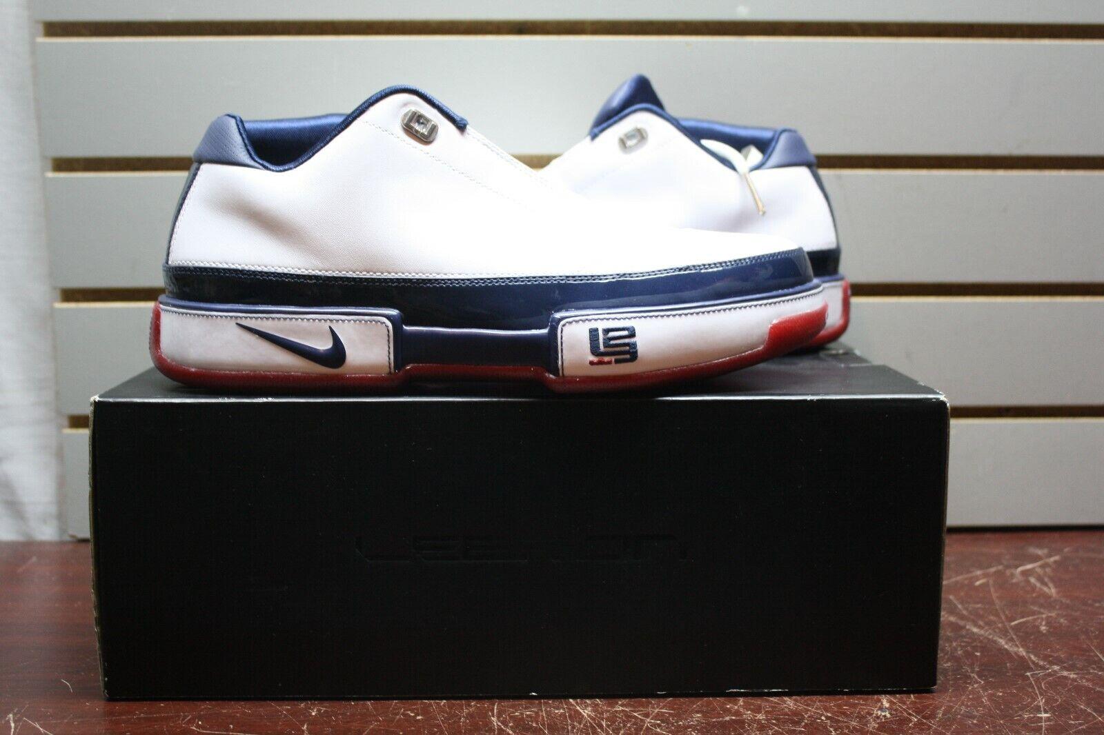BRAND NEW Nike Lebron James Mens SIze 10 US 315837-141 Basketball shoes