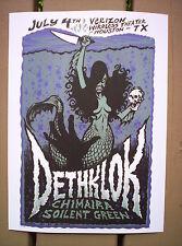 DETHKLOK Metalocalypse Adult Swim Heavy Metal Rock Concert mini Poster