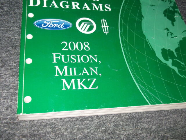 2008 Ford Fusion Mercury Milan Lincoln Mkz Wiring Diagram