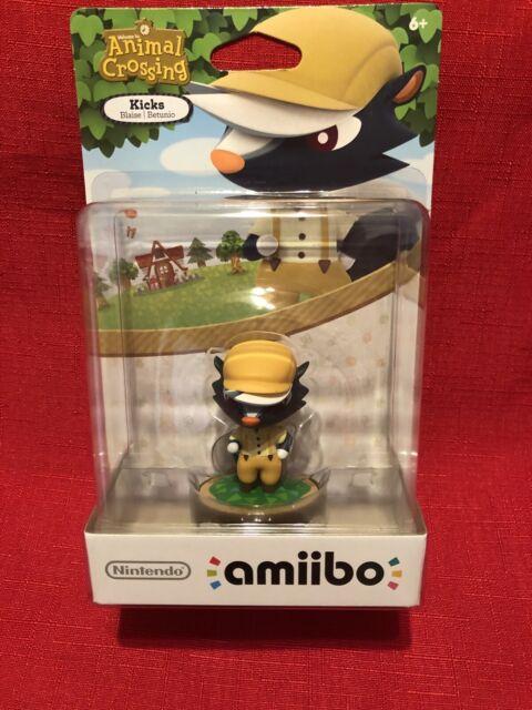 Kicks Animal Crossing New Horizons Amiibo Figure Nintendo ...