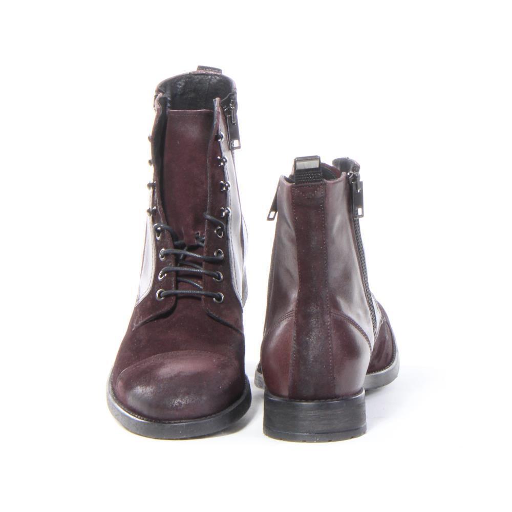 Men Diesel shoes D-Kallien Boots Red Size 10