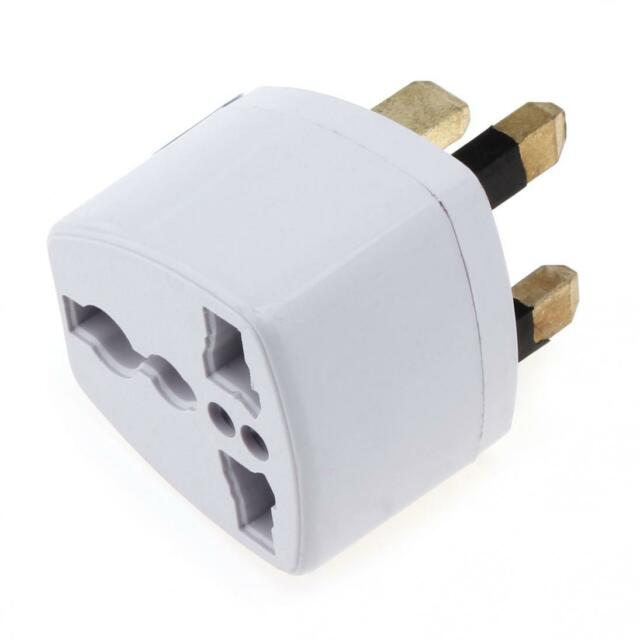 Universal Travel Adapter International  AU USA EU to UK Australian Power Plug
