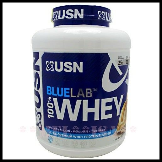 USN Blau Lab Whey 100% Premium Protein Powder 2kg (New Product) Vanilla