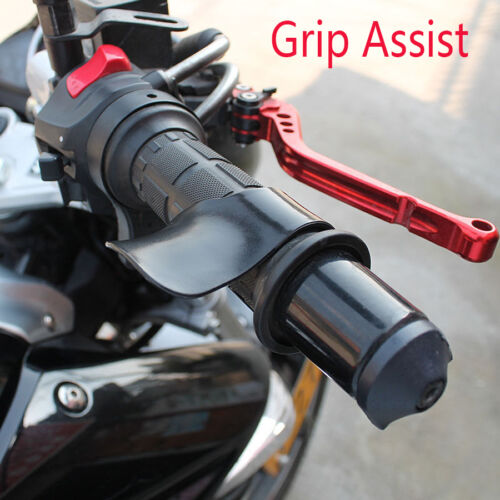 Motorcycle Bike Grip 7//8/'/' Throttle Assist Wrist Cruise Control Hand Cramp Rest