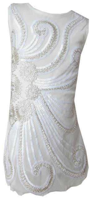 Girls Stunning Party/Casual Sequin Flower Swirls Dress Sparkly/Glitzy 3Y-12Years