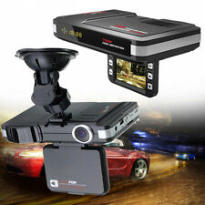 2 In 1 Car Camera DVR Dash Cam Recorder+Radar Laser Speed Detector Alert Night