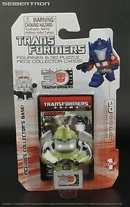 RATCHET Transformers Prime Mini Figurine 3D Puzzle Piece 30th Anniv Goldie