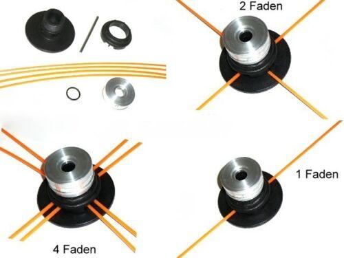 Fadenkopf passend für Stihl FS 490 C-EM Universal Mähkopf für Motorsense Freis