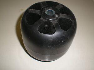 Stens 210-316 Deck Roller Black
