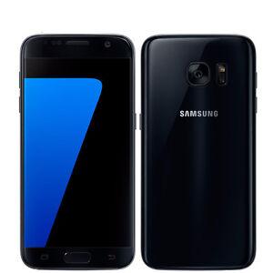 Noir-Samsung-Galaxy-S7-SM-G930A-32GB-Debloque-Smartphone-Tout-operateur