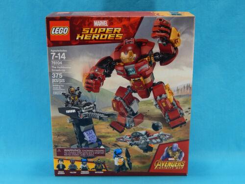 Lego Super Heroes 76104 The Hulkbuster Smash-Up 375pcs New Sealed 2018