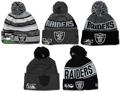 New Era - NFL POM Knit Beanie - Oakland Raiders