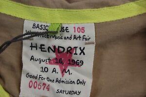 NWT-Jimi-Hendrix-Woodstock-Music-Festival-POLO-SHIRT-Small-S
