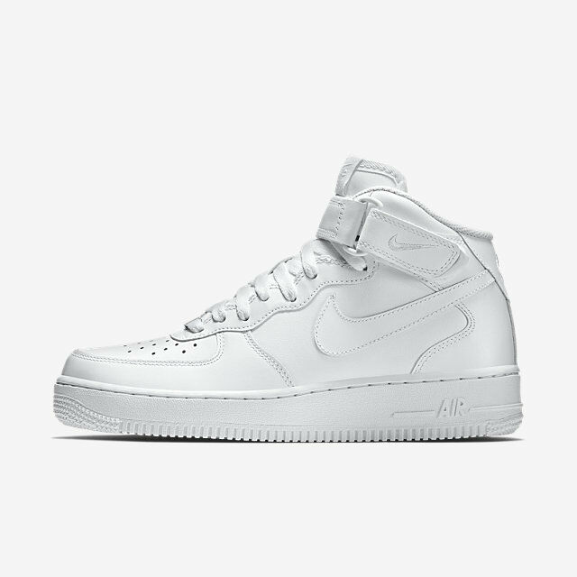 Nike Air Force 1 One Mid Top All Triple Uptown White 315123 111 AF1 Uptown Triple Size 8-13 DS bb784c