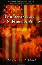 Terrorism and U.S. Foreign Policy, Pillar, Paul R., Good Book