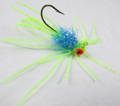 Slater/'s Jigs 847T-16 Crappie Jigs #4 Fishing Hook 1//16 oz 12//Cd
