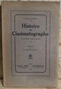 Rare : Georges-michel Cossac Histoire Du Cinématographe Edition Originale 1925