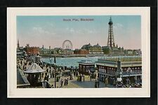 L@@K  North Pier Blackpool 1900's Postcard ~ NICE IMAGE ~ TOP QUALITY CARD