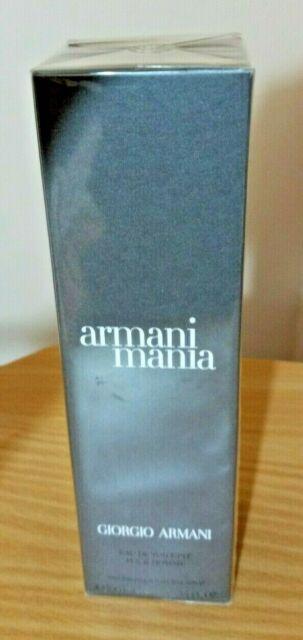 Armani Mania Men Giorgio Armani Mania 3.4oz / 100ml Men's Eau de Toilette Rare