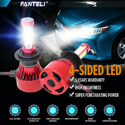 H7 Xenon HID Conversion Bulb DRL Car Headlight All Colors Replace Halogen or LED