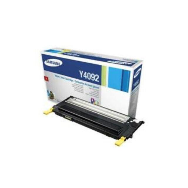 Genuine Samsung CLT-Y4092S Yellow Laser Toner Cartridge forCLP-310 310N 315 315W