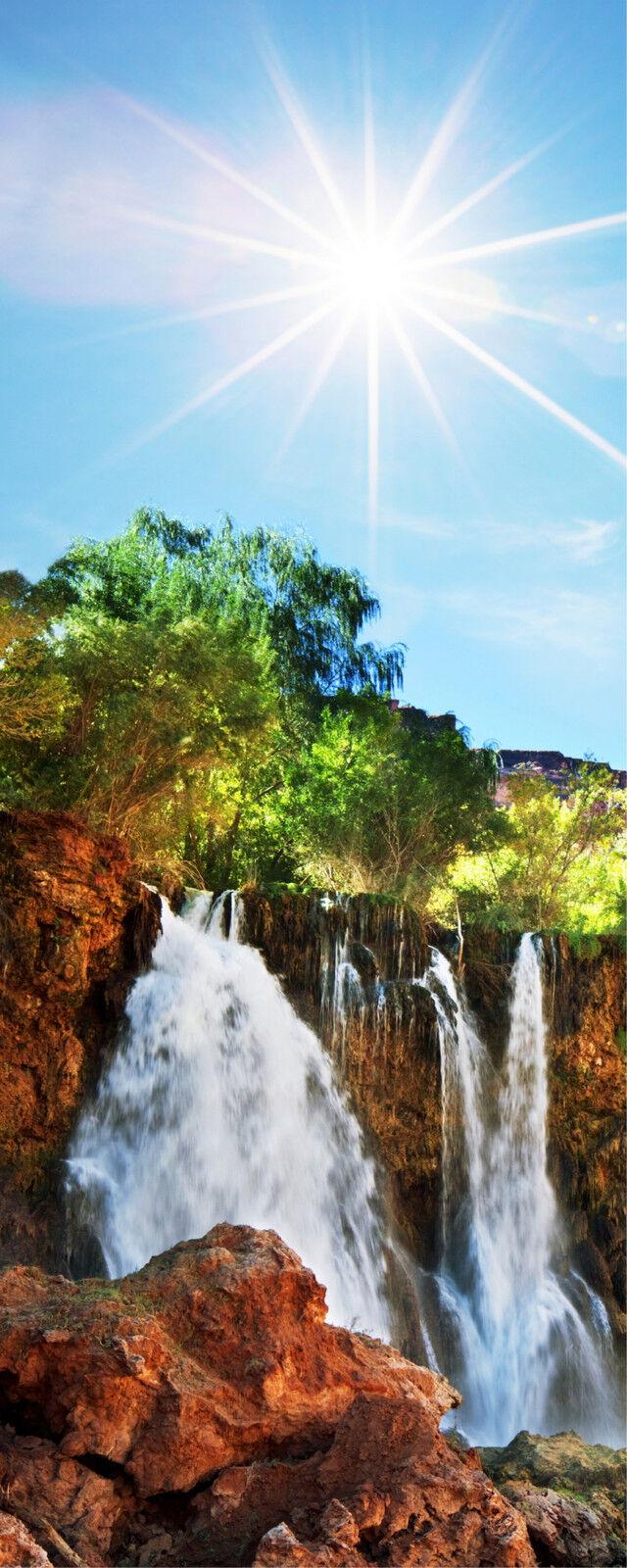 Adhesivo Trampantojo Trampantojo Cascada de Agua 100x200cm Ref 419