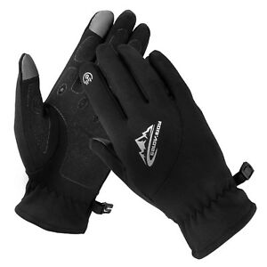 Winter Thin Liner Touch Screen Gloves Men Women Soft Thermal Outdoor Driving Ski