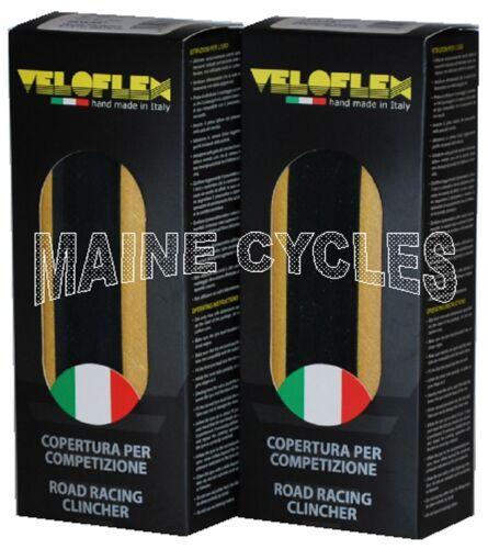 Veloflex Master clincher 700 X 25 black 1 pair gum sidewall 2 tires