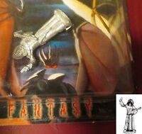 Ral Partha RP-154 Cleric with Mace (1) 25mm Miniature Priest Monk Adventurer NIB