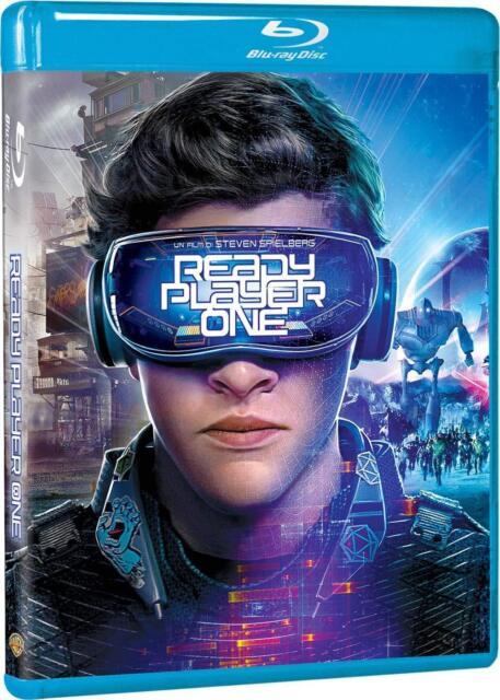 Blu Ray READY PLAYER ONE Steven Spielberg Warner Bros 2018