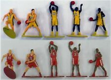 Playset Basketball Action 10 Painted Figures Blue White Spurs 76ersnba Ship