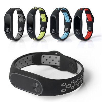 XIAOMI MI BAND 2 Reloj Pulsera Correa Ritmo Cardiaco Silicona Para Deportes