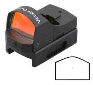 Mini-Leuchtpunktvisier-Red-Dot-mit-4-Stufen-Reflexvisier-Rotpunktvisier-Jagd