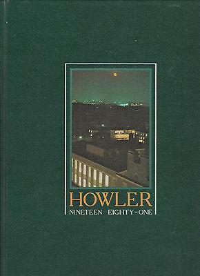 """howler"" Wake Forest University 1981 Yearbook Winston-salem, North Carolina"