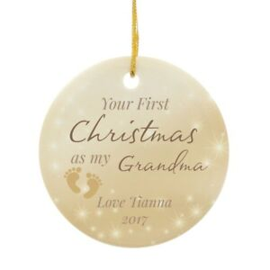 Grandmas first christmas gift ideas