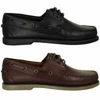 Mens Moccasin Deck/ Boat Shoes by Dek Leather