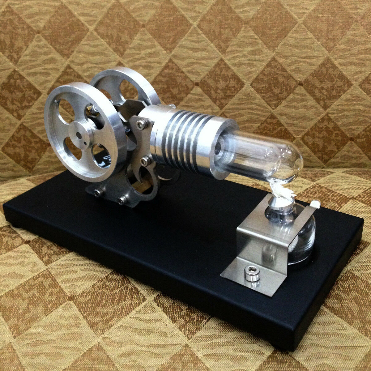 Hot Air Stirling Engine Generator Motor Toy Mini Manson Engine Power Generator