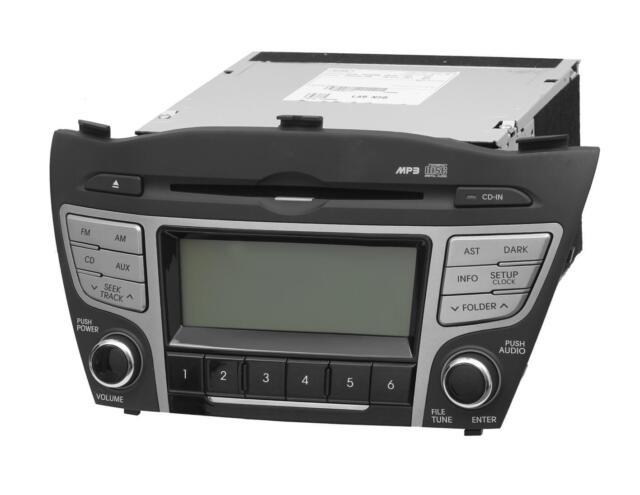 NEU Original Hyundai ix 35 Auto Radio CD Player MP3 A-200 KFZ NEU